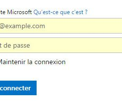 Google hotmail fr. La datation.